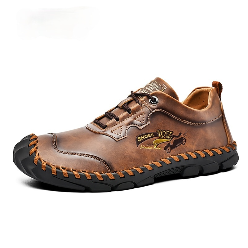 new suede leather with mesh shoe men breathable casual shoes leather flats plus size soft driving men shoes loafers moccasins Fashion Men Casual Leather Shoes Quality Split Leather Men Shoes Loafers Flats Outdoor Moccasins Shoes Man Plus Size