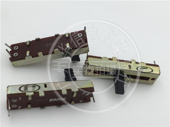 1 шт./лот ножка швейной машины для HT 3,5 см одно соединение B900K движок для прямого потенциометра длина ручки 10 мм