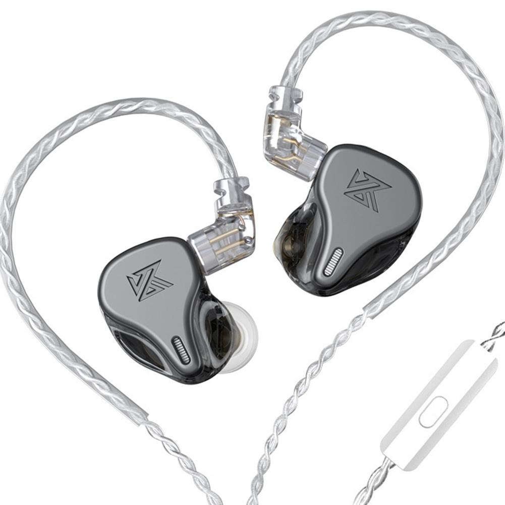 Newest KZ DQ6 3DD Dynamic Drive Unit In Ear Earphones HiFi Music Sports Headset With 2PIN Silver-plated Cable KZ Earphones enlarge