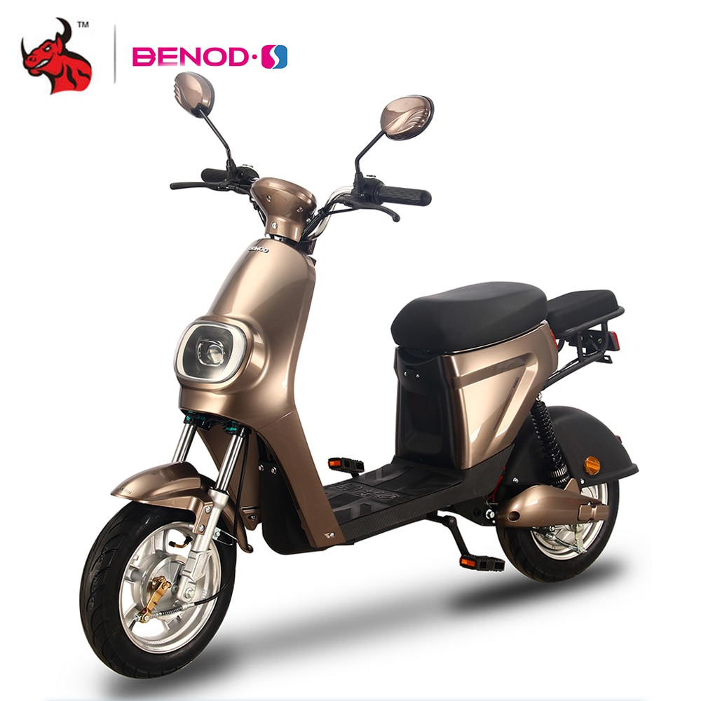 BENOD Electric Motorcycle Scooter Energy-Saving Electric Mini Off-road Moto Lithium Battery Motor High Endurance Electric Moped
