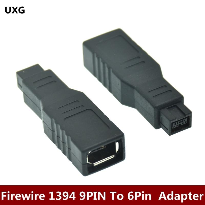 Firewire-convertidor 1394 de 9 a 6 pines, accesorio de ordenador, adaptador B,...