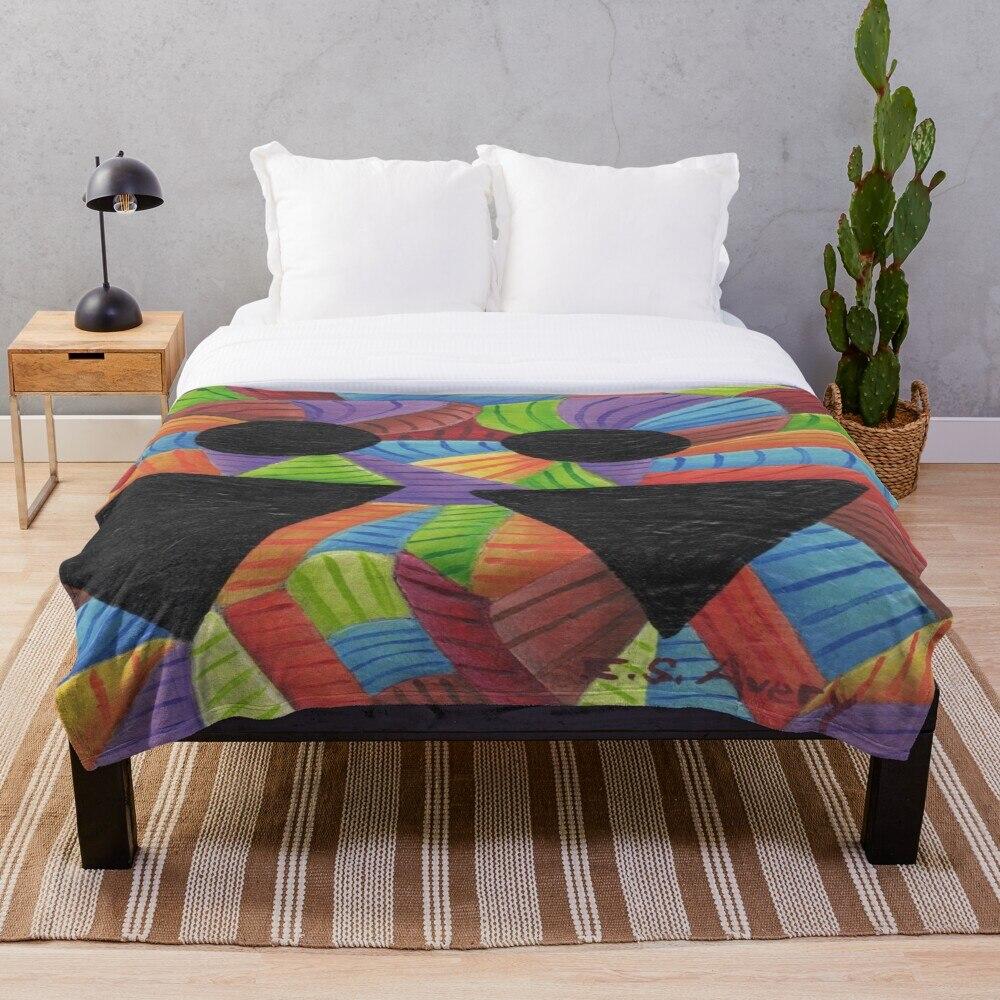 Мягкое одеяло для кровати шерпа Фланелевое Флисовое одеяло домашний дорожный диван мягкое одеяло Haute Couture 2