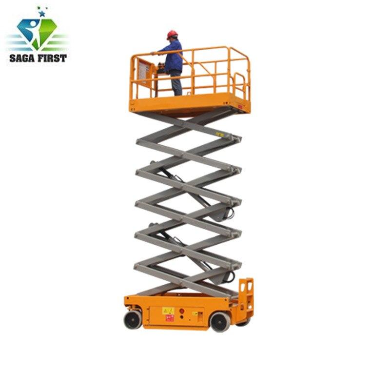 Plataforma de elevación autopropulsada móvil de 6m/elevador hidráulico de bajo precio para trabajo aéreo