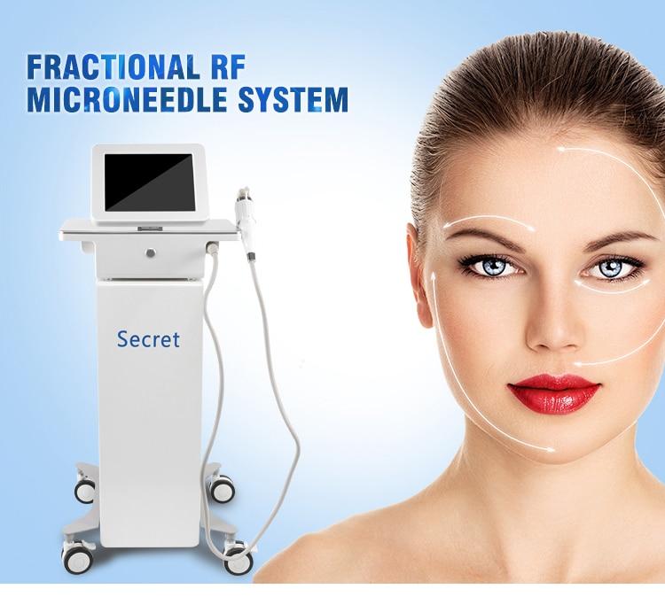 Venda quente Distribuidor queria máquina de levantamento de cara rf cicatriz remover acne/ouro fracionário rf microneedle/radio frequency