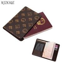 MJZKXQZ защитный для паспорта Обложка кошелек простой мужского и женского пола документы по продаже билетов сумка для хранения печать водител...