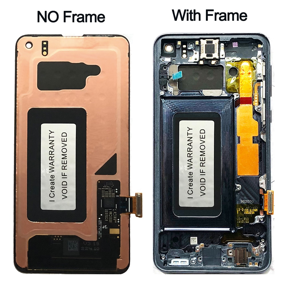 OEM Full Assembly For Samsung Galaxy S10e G970F U LCD Touch Screen AMOLED Display Digitize Assembly Replacement NO Burn Shadows enlarge