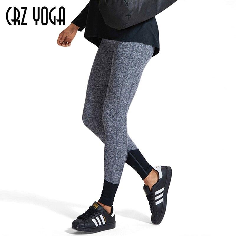 CRZ YOGA mujeres atléticas Fitness deportes sudor pantalón correr medias entrenamiento Slim Legging ropa deportiva