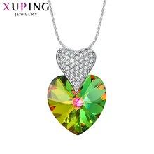 Xuping en forme de coeur promesse pendentif bijoux populaires cristaux de Swarovski romantique fête cadeaux de mariage pour les femmes S145-30305