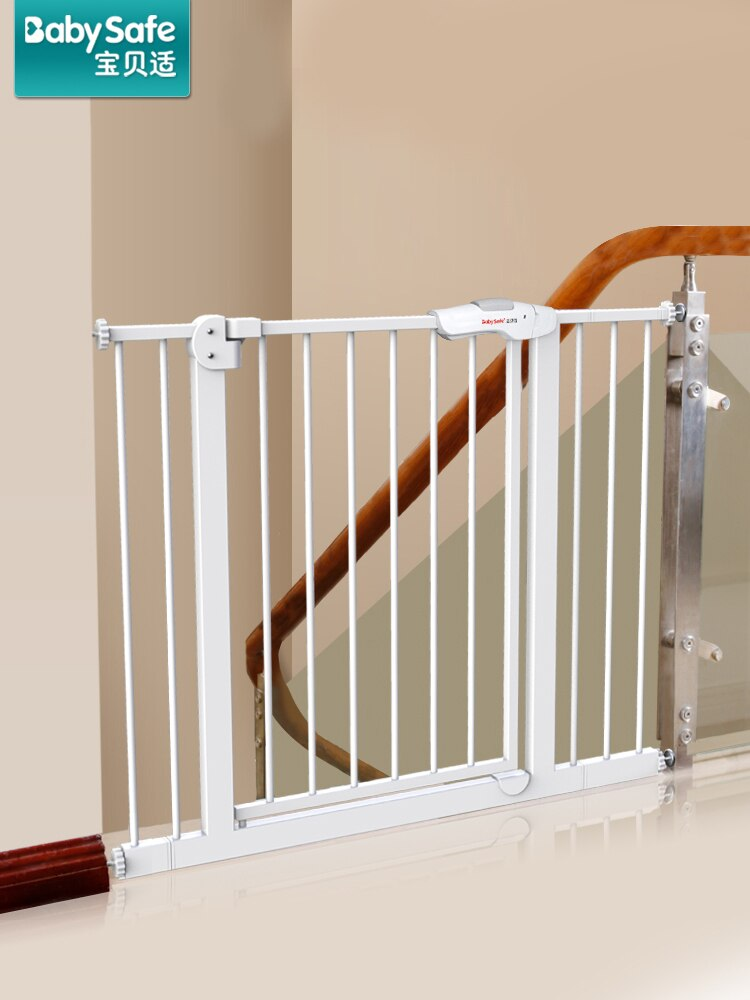 Babysafe Baby Safety Gate Child Stairway Protective Fence Pet Dog Fence Rail Isolation Door Free Punch For 60cm-500cm High 77cm