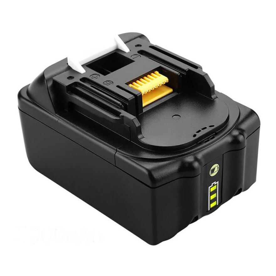 Bl1860 bl1850 18v 6000mah recarregável li-ion bateria para makita bl1840 bl1830 lxt400 substituição sem fio broca ferramenta elétrica célula