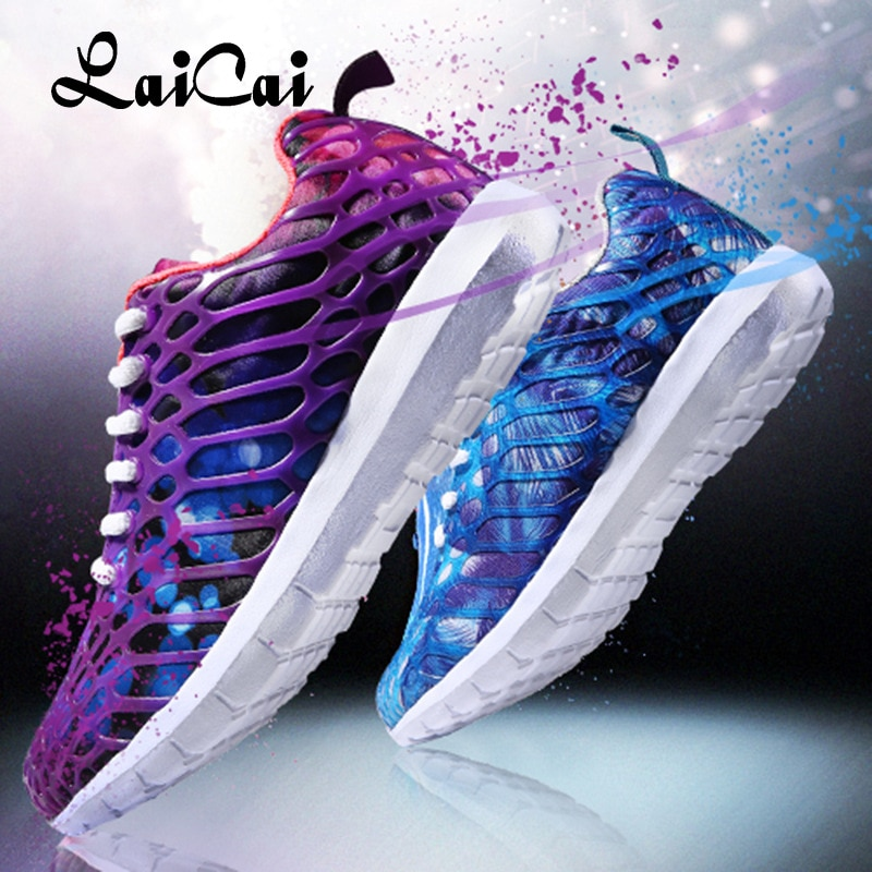2021 Summer Autumn Student Breathable Sneakers Running Shoes for Women Couple Camouflage Mesh Casual Mens Tenis