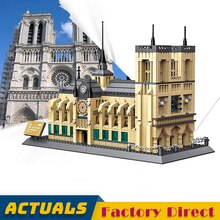 Cathedrale Notre dame De Paris Bausteine Lepinbrick Architektur Kulturellen Heritage Berühmte Kirche Symbol Bau Ziegel
