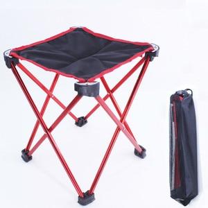 Portable Folding Small Bench Light Fishing Chair Fishing Chair Multi-function Outdoor Mini Mazar  WJ605