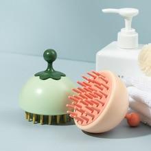 creative Silicone Head Body Scalp Massage Brush Comb Shampoo Hair Washing Comb Shower Brush Bath Spa