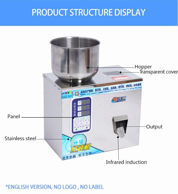 Big dose table top powder flour auger filling machine enlarge
