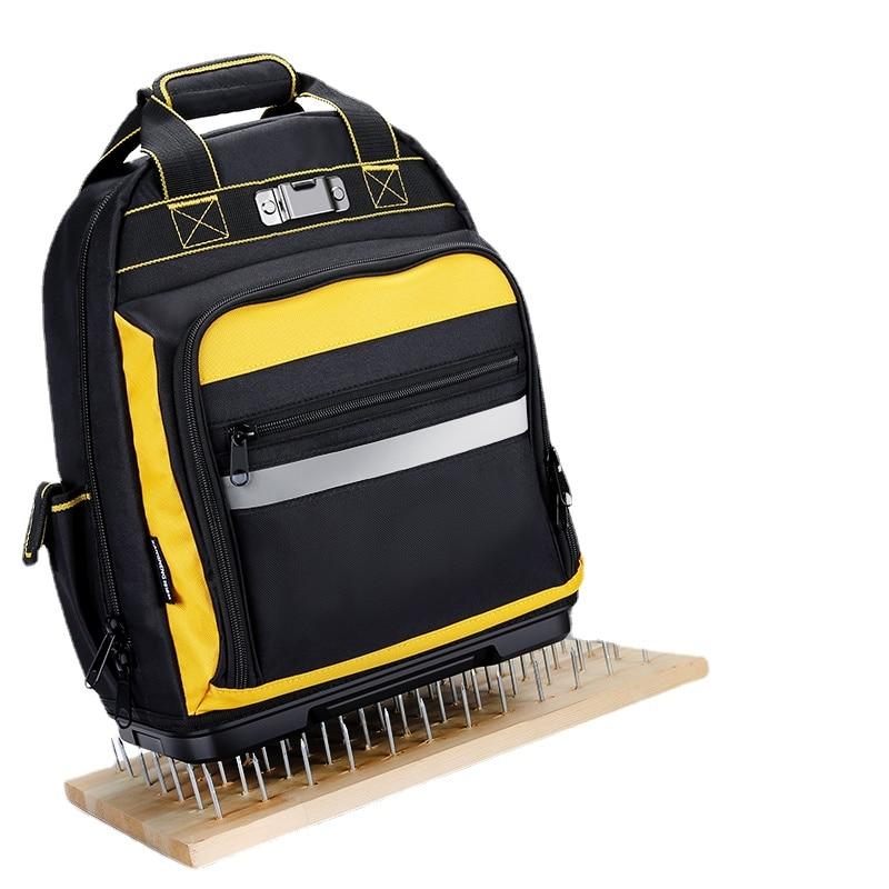 حقيبة الظهر أداة متعددة المهام حقيبة كبيرة أكسفورد القماش حقيبة أدوات الكهربائي المهنية مالا Ferramentas أداة تخزين BS50GJ