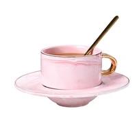 hpdear coffee mug set with spoon coaster ceramic couples mug ideal gift for wedding birthday anniversary valentines day