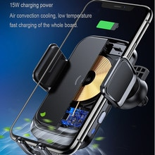 Mobile phone car wireless charger exhaust port for iPhone 1211 car holder Xiaomi Samsung 9 1015W wireless charger
