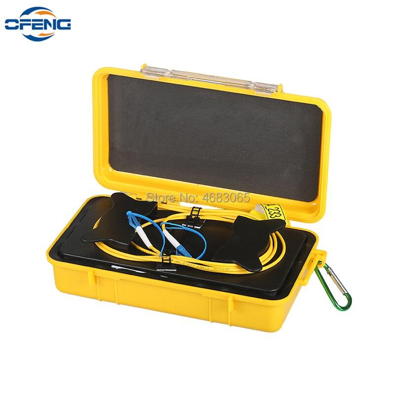 OTDR verlängerung kabel LC/UPC-LC/UPC OTDR Toten Zone Eliminator, faser Ringe 500M Fiber Optic OTDR Launch Kabel Box 1Km 2Km