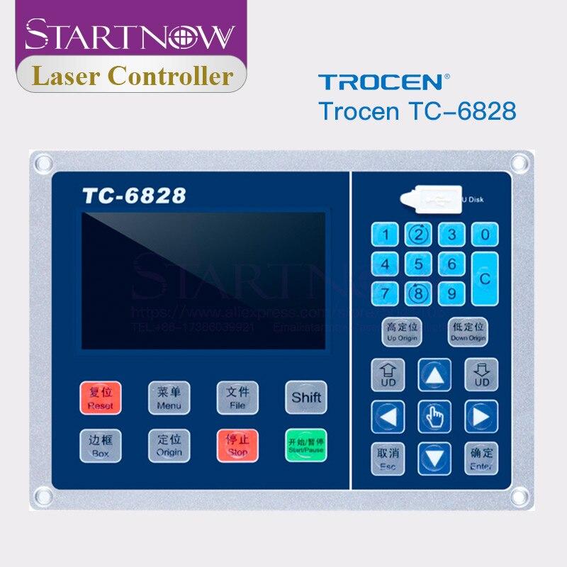 Trocen TC-6828 вибрирующий нож с лазерным управлением для деревообработки резьба машина система управления Гравировальное Оборудование Запчасти