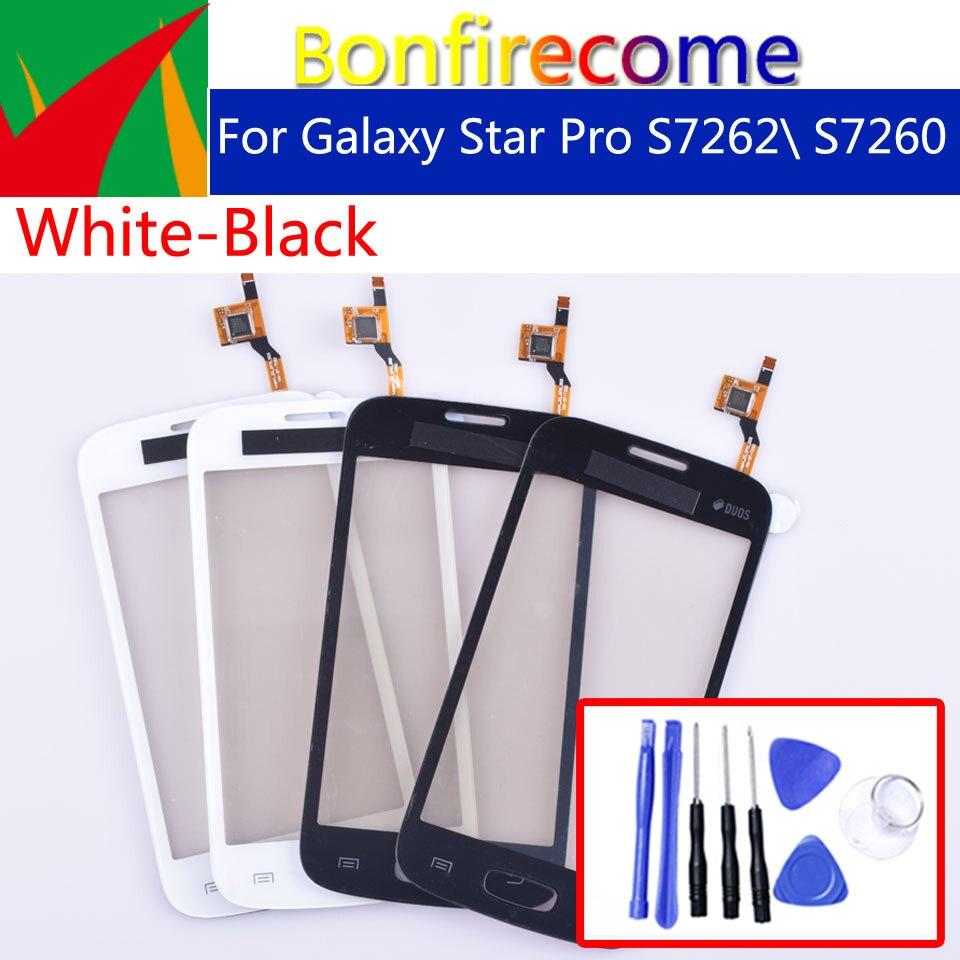 """4,0 """"для samsung Galaxy Star Pro S7262 GT-S7262 S7260 GT-S7260 Сенсорная панель дигитайзер стеклянный сенсорный экран без ЖК-дисплея"""
