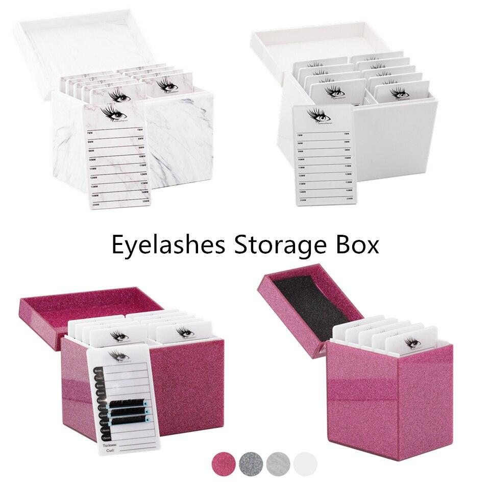 Eyelash Storage Box 5/8/10 Layers Display Eyelashes Holder Organize Container Case for False Eyelash Extension Makeup Tools
