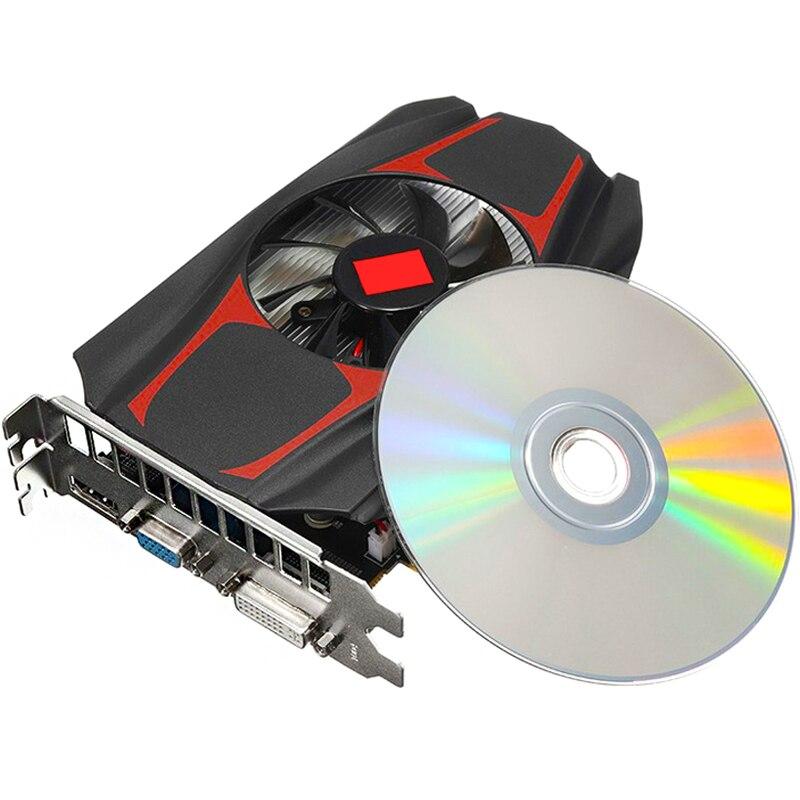 HD7670 بطاقة جرافيكس 1 جيجا بايت 128bit مستقل HDMI متوافق مع بطاقة الفيديو سطح المكتب المنزل ملحقات الكمبيوتر بطاقة جرافيكس s