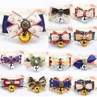 pet dog bow tie teddy bow cat bell collar dog accessories puppy accessories dog collar