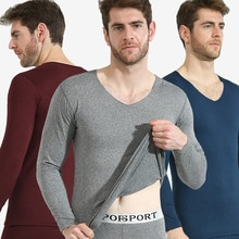 2019 Winter Long Johns Thick Men Thermal Underwear Sets Keep Warm For Men Winter Thermo Underwear