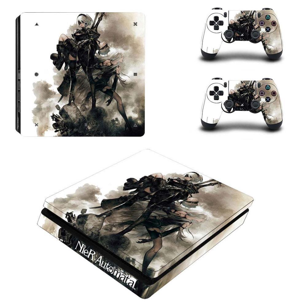 Etiqueta engomada delgada del vinilo de la etiqueta engomada de la piel para la consola y el controlador de la consola de Playstation 4