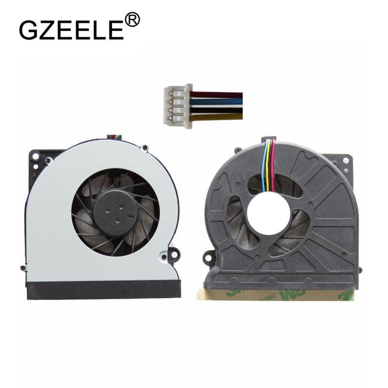 GZEELE Новый охлаждающий вентилятор для ноутбука ASUS N61 N61V N61JV N61JQ N61VG охлаждающий вентилятор для процессора KSB06105HB