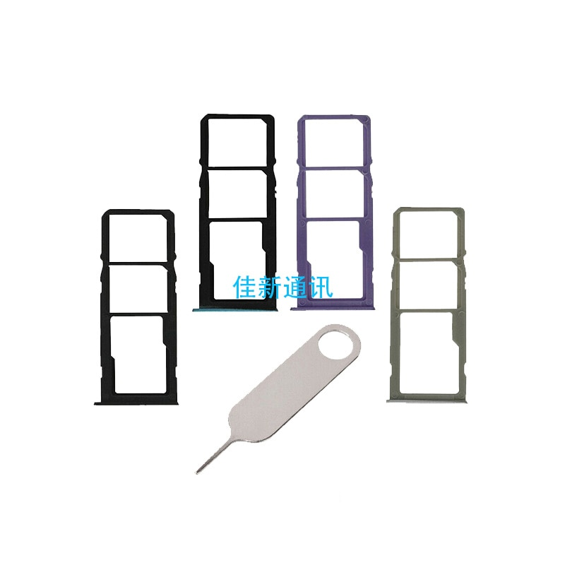 For Samsung Galaxy A21 A215F Dual&Single SIM Card Tray Holder Slot SD