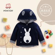 Car children's clothing autumn winter baby warm jacket jacket cute cartoon baby clothes 1-3 years ol