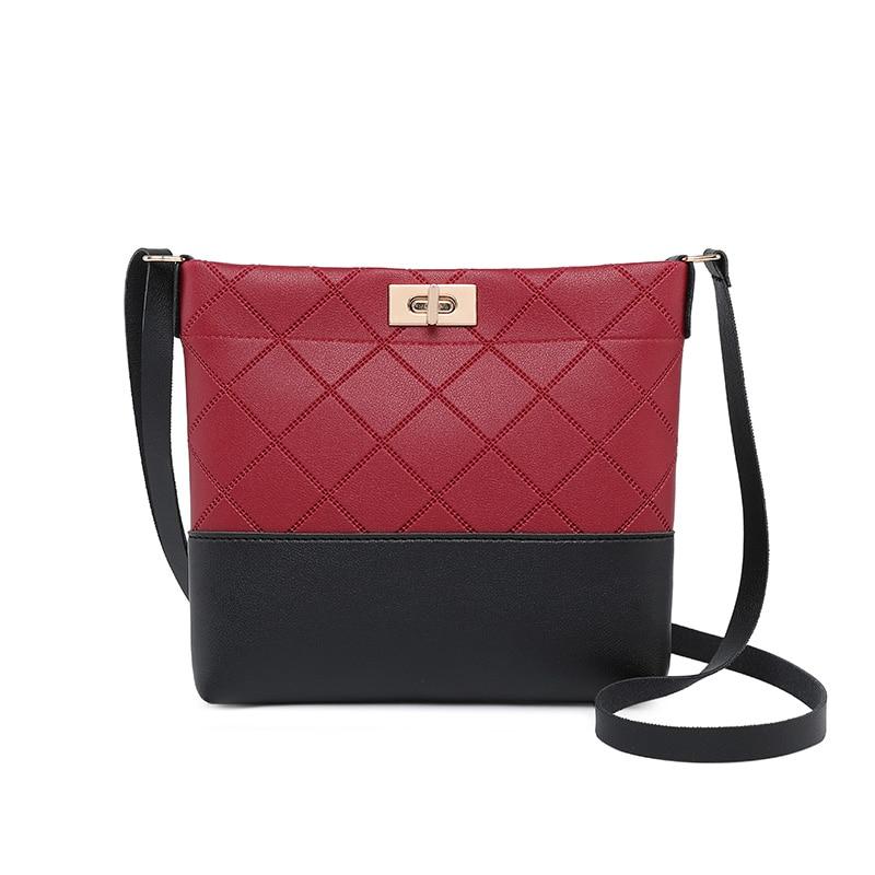 2020 bolso de cuadros con entramado de diamantes, Mini bolso con broche, bolsos cruzados para mujer, bolso de mujer, bolso de diseño de alta calidad, bolsos pequeños a la moda