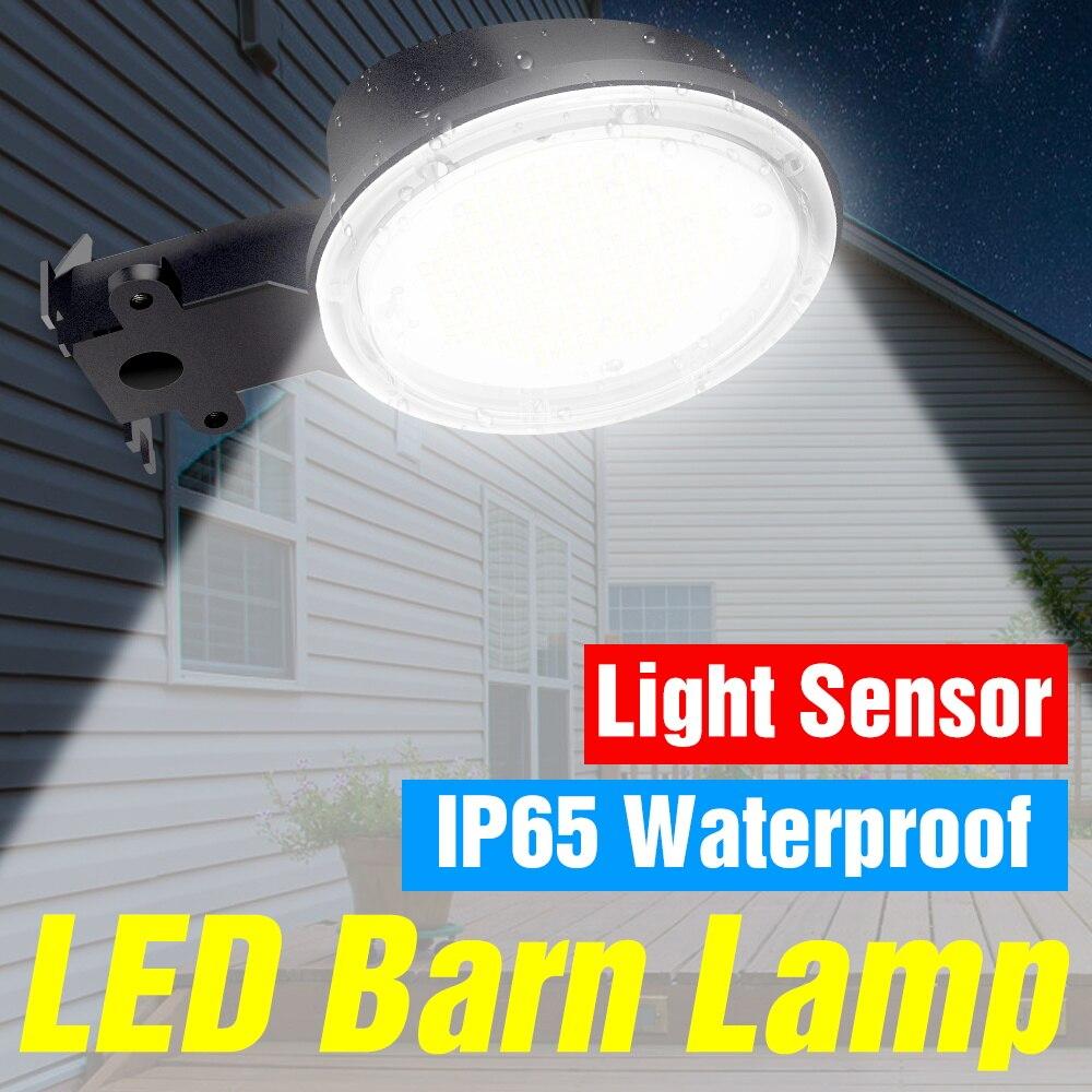 Водонепроницаемая светодиодная настенная лампа 220 В, прожектор, уличсветильник освещение, светодиодная лампа 35 Вт, 50 Вт, 70 Вт, 80 Вт, 100 Вт, 120 Вт, мощный светодиодный светильник для гаража