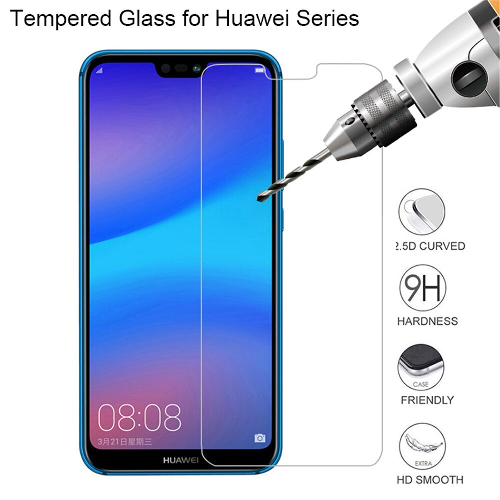 Tempered Glass For Huawei P30 P40 Lite Screen Protector Glass For P20 Pro Honor 9 10 8X 9X