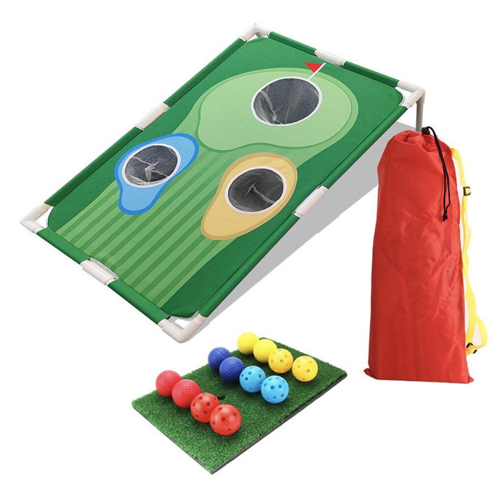 Backyards golfe cornhole jogo de golfe cornhole jogo conjunto golfe lascar net golf training aids equipamento de treinamento de golfe
