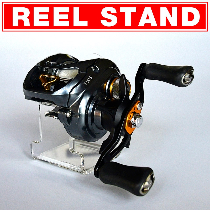 Bait Caster Baitcasting Trolling Drum Reel Wheel Display Stand Holder Support Rack Storage Collecting Store Up