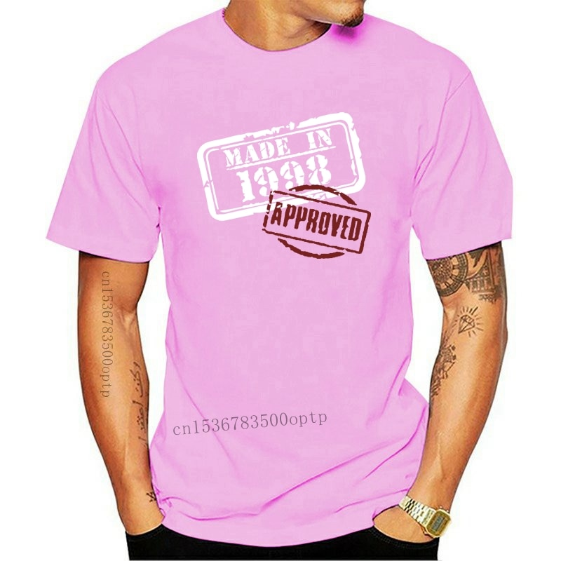 New 21st Birthday T Shirt Distressed Made In 1998 Approved Twenty First One