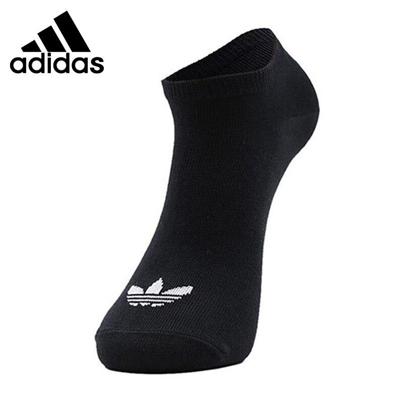 Original New Arrival Adidas Originals NO SHOW SOCK 3P Unisex Sports Socks( 3 Pairs )