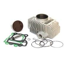 60mm 62mmCylinder Barrel Kolben Dichtung Ring Rebuild Set Für YX160 YX 160cc 4 Ventile Motor Pit Bike