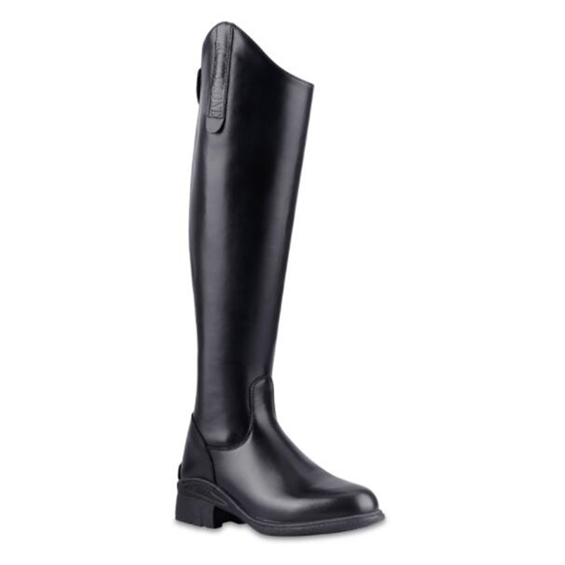 Cavassion Classical Equestrian Straight Zipper Boots Equestrian Equipment When Knight Riding Horses