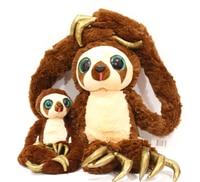 25/40 см оригинальный кродовый примитивный человек длинный ремень обезьяны плюшевая игрушка мягкие наполненные куклы подарок на день рожден...