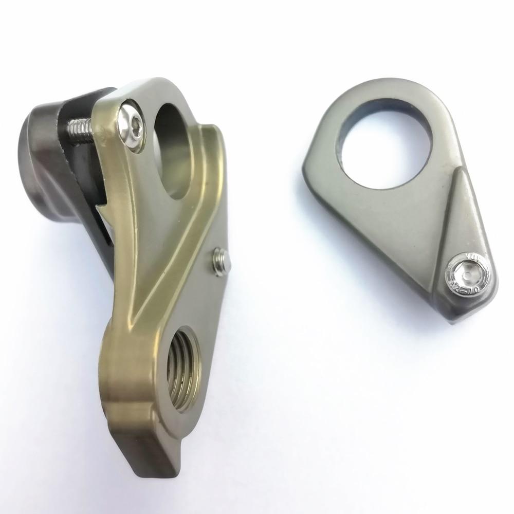 1 pieza de suspensión de cambio de marchas trasero de bicicleta, marco de suspensión, piezas de gancho de cola de engranaje para XTC SLR gigante 12x142, himno de Triatlón