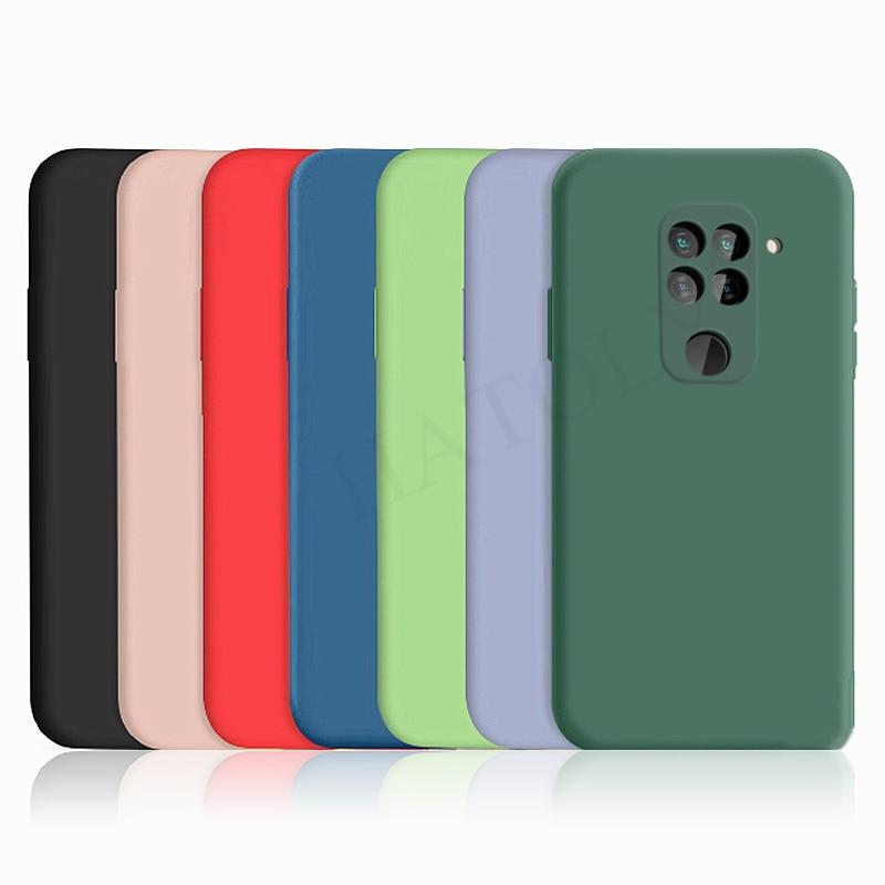 Para Xiaomi Redmi Note 9S 9 Pro funda cubierta Mi Note 10 Lite Pro silicona líquida suave TPU parachoques funda trasera Redmi Note 9 10X
