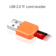 KEBIDU USB 2.0 Micro SDXC SD TF Card Reader Micro SD Card Reader with TF card slot USB 2.0 Mini Adapter for PC Computer