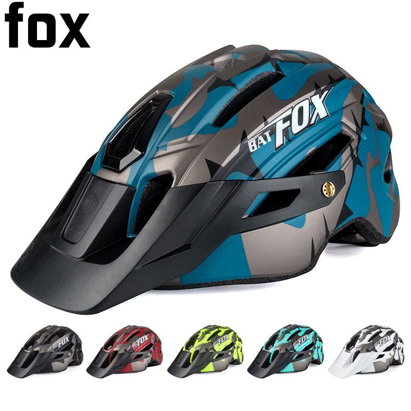 BATFOX casco de bicicleta general moldeado MTB casco ultraligero de seguridad en...