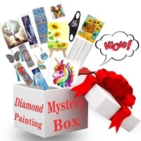 1pack mystery gift pack surprise box10000different diamond paintings art sets diamond painting accessories random 3pcs