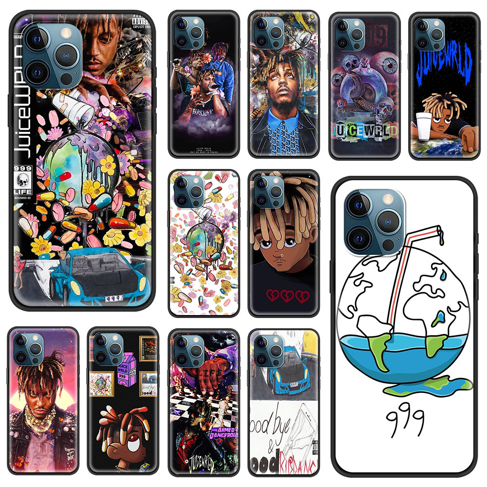Soft Phone Case For iPhone 11 12 Pro Max XR 7 8 Plus X XS 6 6S 5 5S SE 2020 Shockproof Cover Thin Co