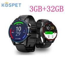 X361X360 V9 Smart Watch Android 7.1 3 Gb 32 Gb IP67 Waterdicht 1.6 Inch Amoled Scherm 800 Mah Batterij Sport Smartwatch mannen Gps Horloge